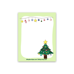 "Oh Christmas Tree Note Pad 4.25""x5.5"""