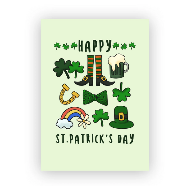 Happy St. Patricks's day card