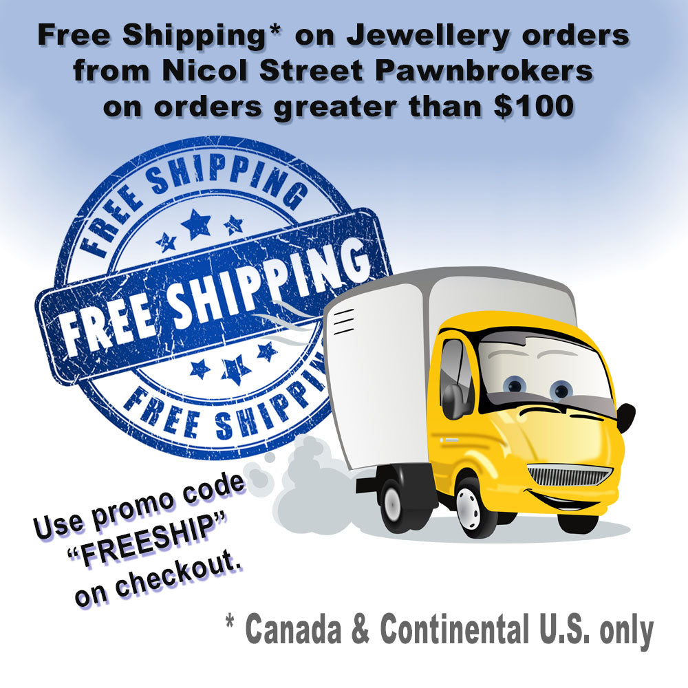 Free Shipping on Jewellery orders