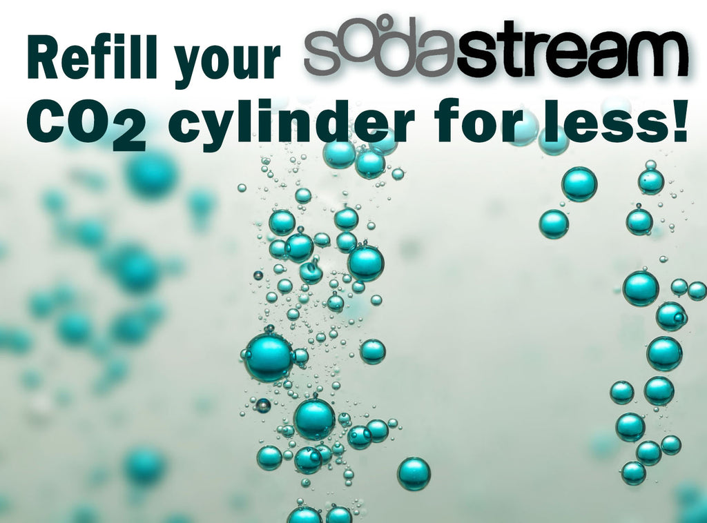SodaStream CO2 Refills for Less