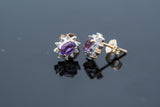 February's birthstone Amethyst is famous for its gounding properties and instilling a sense of calm to the wearer