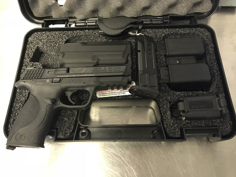 The Smith & Wesson M&P Range Kit available and in stock now at Nicol Street Pawnbrokers