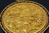 Lovely chinese floral design in 22 karat yellow gold