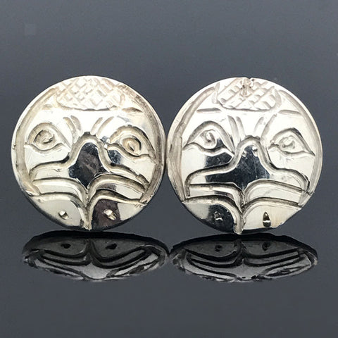 Sterling Silver Eagle Earrings