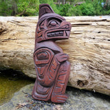 The Bear is known as the Protector of the animal Kingdom and is an important Family crest in West Coast Native Culture