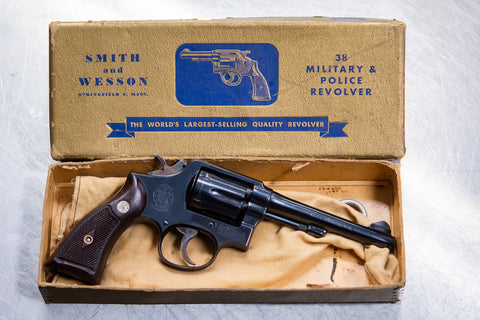 Smith & Wesson M&P .38 Revolver at Nicol Street Pawnbrokers