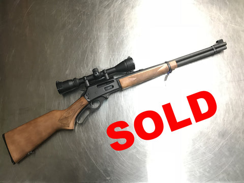 The Marlin 336W Lever Action Rifle available at Nicol Street Pawnbrokers Ltd.