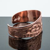 Solomon Seward Copper Turtle Bracelet