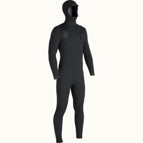 Vissla Seven Seas 4:3 Hooded Chest Zip Wetsuit