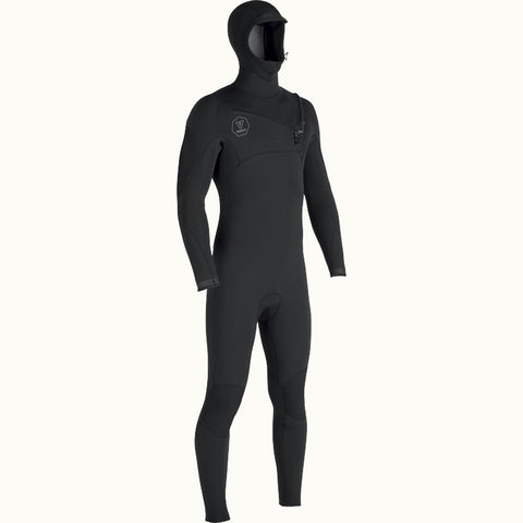 Vissla Seven Seas 5:4:3 Hooded Chest Zip Wetsuit