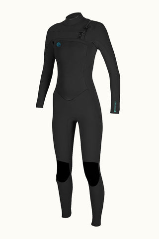 Oneill Women's Original Fuze 4:3 Chest Zip Wetsuit