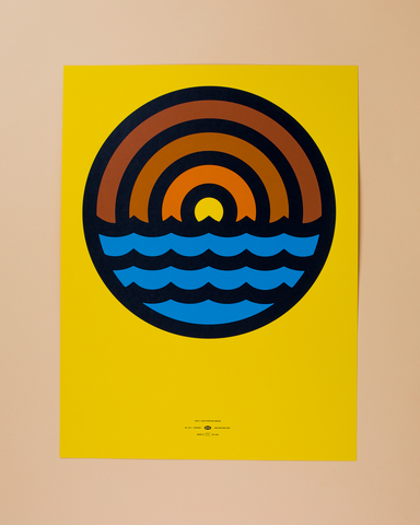 DDC No. 2 Waves Poster