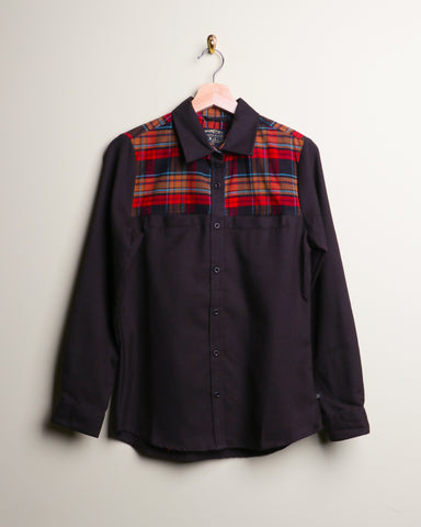 UBB Pinedale Plaid Wool Buttondown