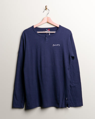 Banks Flight L/S Tee / Dirty Denim