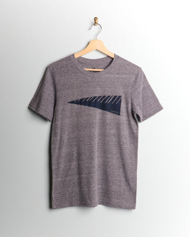 Leeward Swell Marker Tee Gray