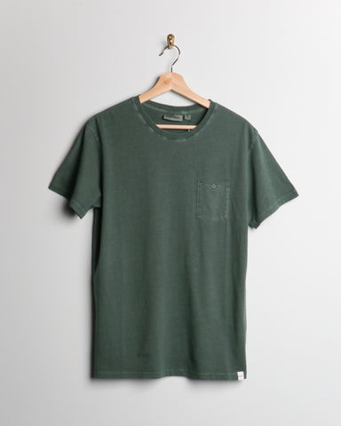 Rhythm Everyday Wash Tee Forest