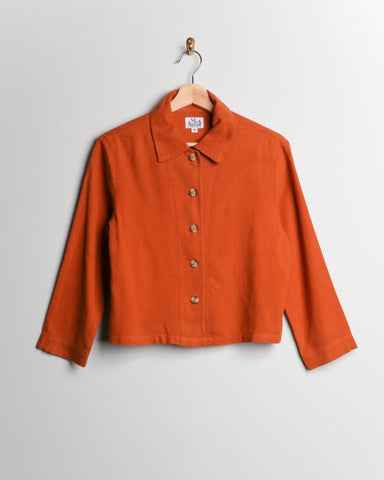 Me & Arrow Crop Jacket Persimmon