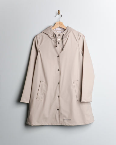 Stutterheim LW Mosebacke Raincoat Light Sand
