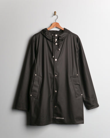 Stutterheim LW Stockholm Raincoat Black