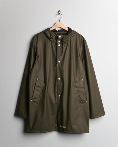 Stutterheim LW Stockholm Raincoat Green