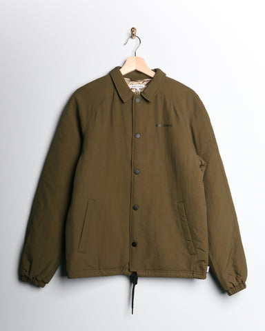Banks Official Label Jacket Olive