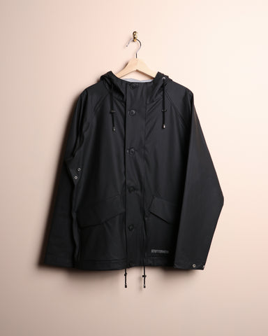 Stutterheim Stenhamra Lightweight Raincoat Black