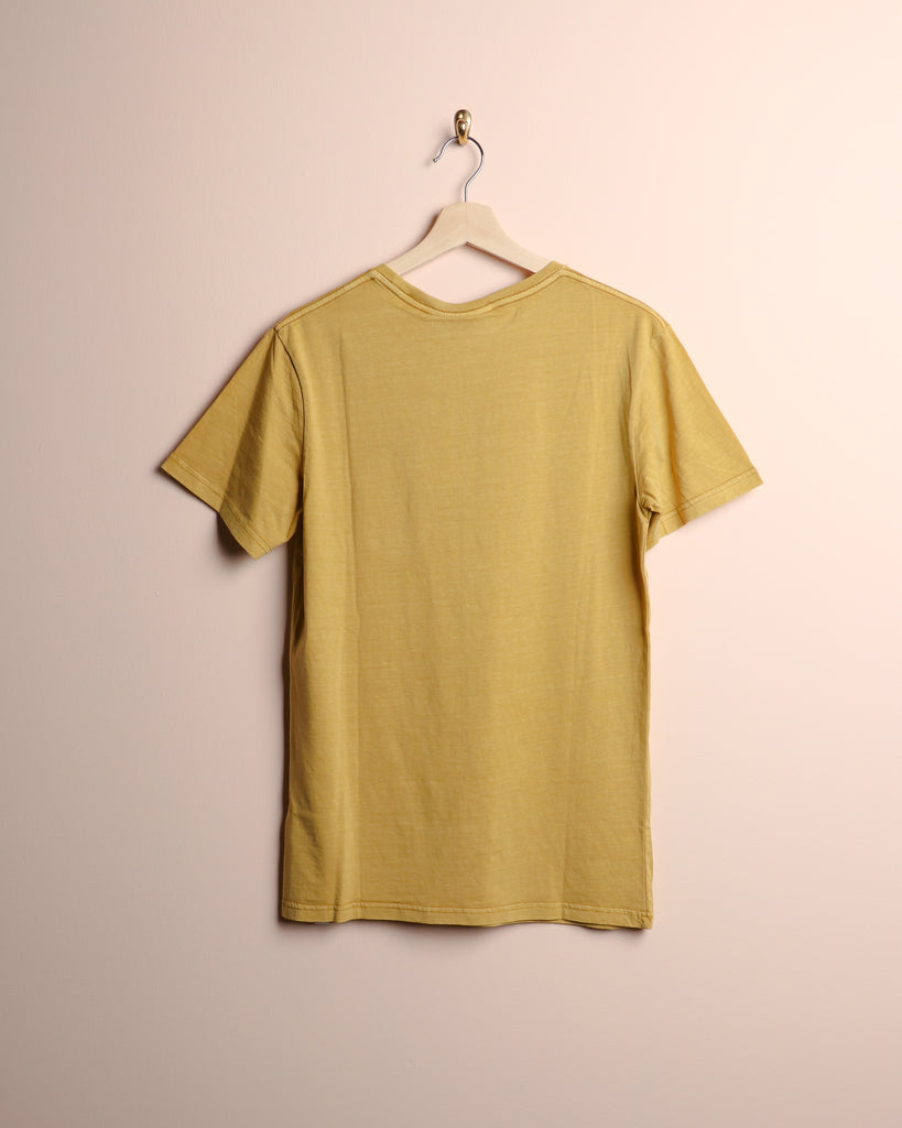 Rhythm Everyday Wash T-Shirt Tumeric