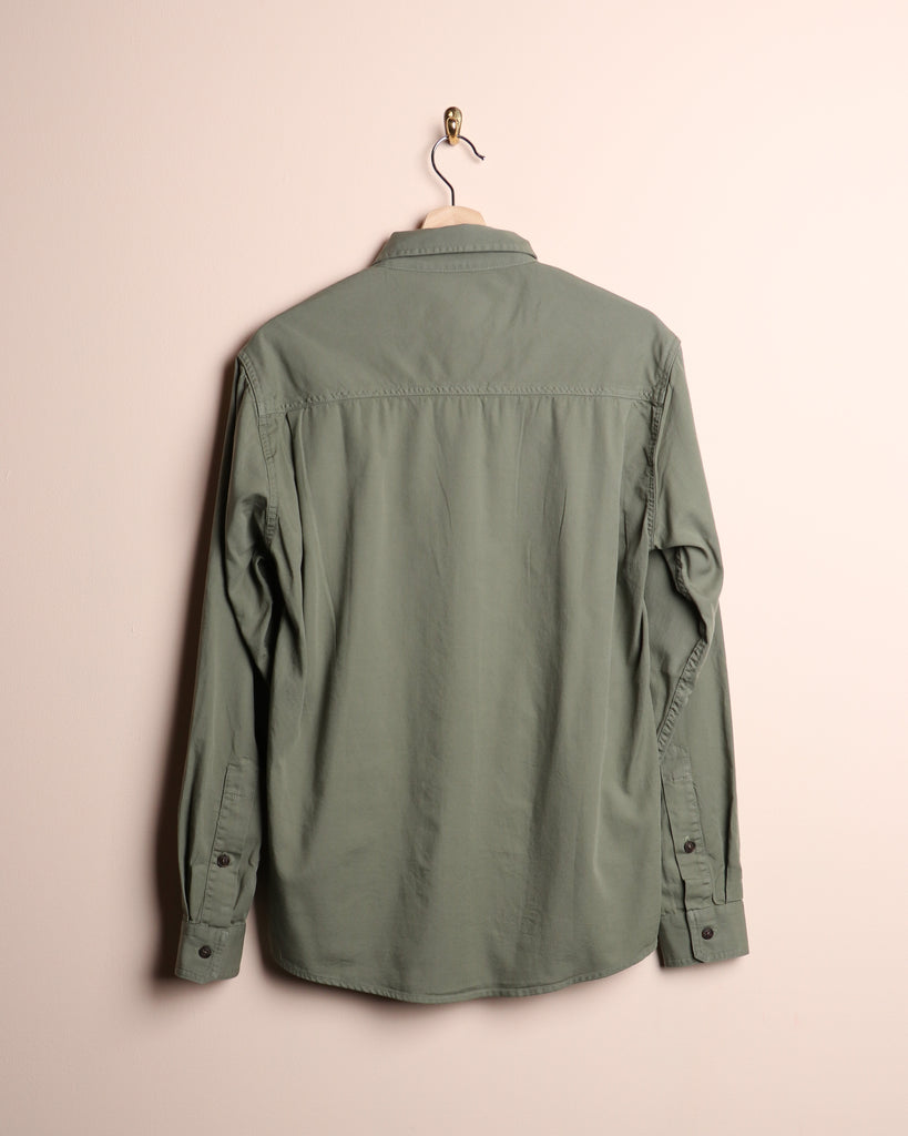 Mollusk One Pocket Shirt Mash Green