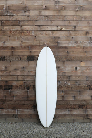 "Mitsven 7'6"" Demo Single Fin Egg"