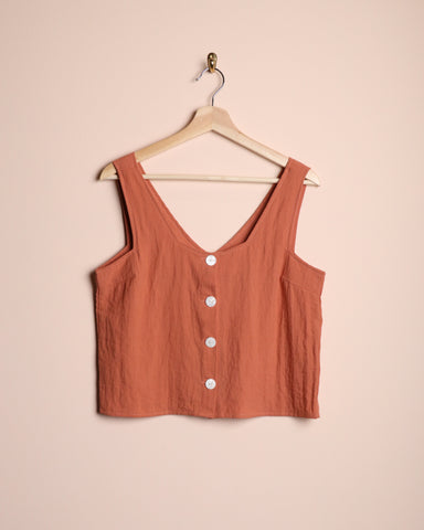 Native Youth Button Front Cami