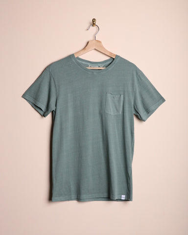 Rhythm Everyday Wash T-Shirt Vintage Teal