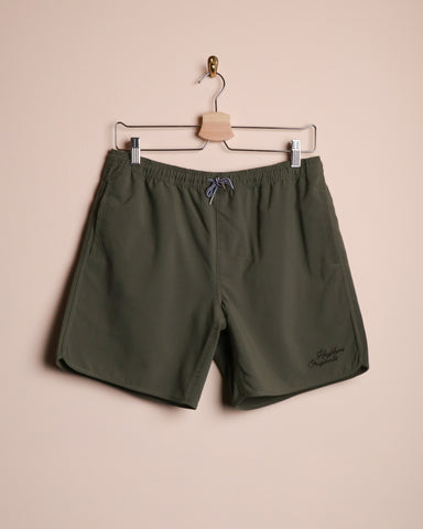 Rhythm Beach Short Olive