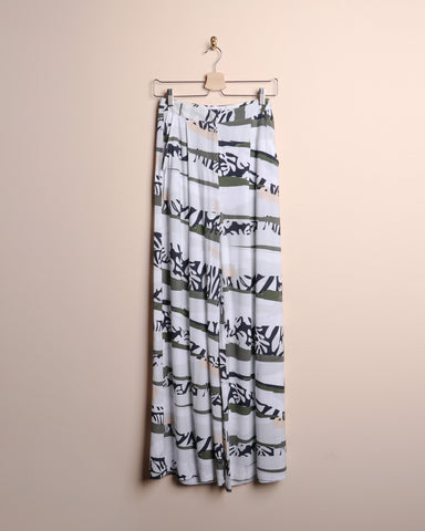 Native Youth Printed Wide Leg Pants