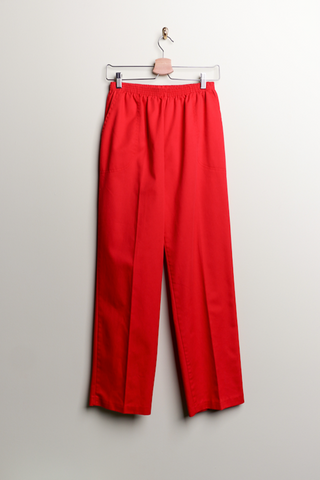 Vintage Made in USA Red Pants
