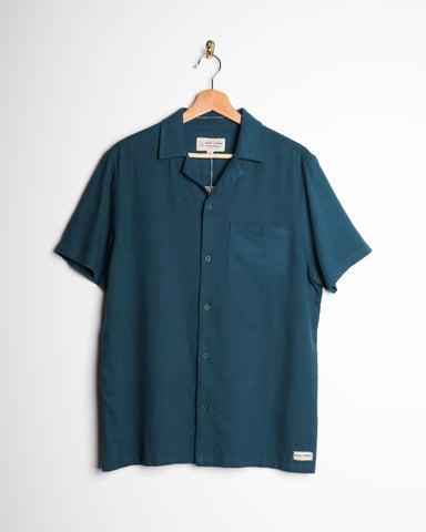 Banks Business SS Linen Shirt