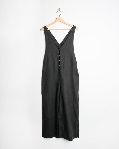 Rhythm Amalfi Jumpsuit Black