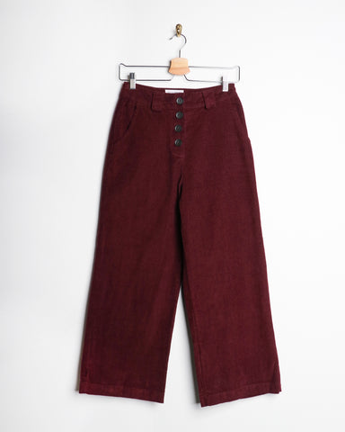 Native Youth Alice Pant Corduroy Wine