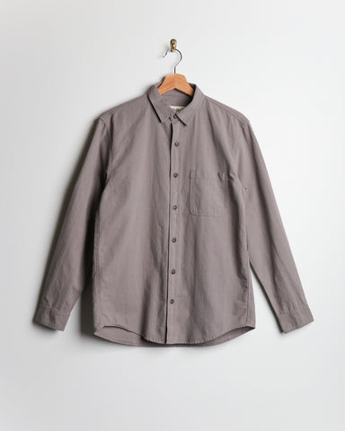 Mollusk One Pocket Shirt Cloud Grey