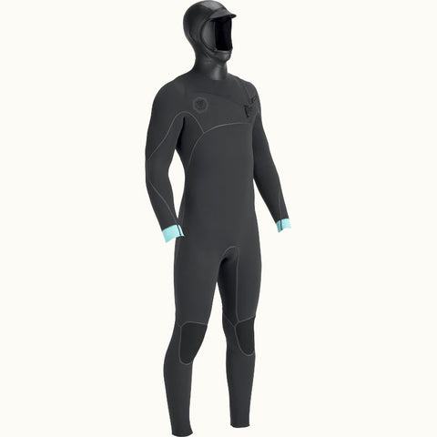 Vissla North Seas 5.5:4.5:3 Hooded Chest Zip Wetsuit