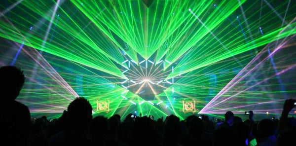 Hearing Colors: 6 Mind-Blowing DJ Laser and LED Light Shows