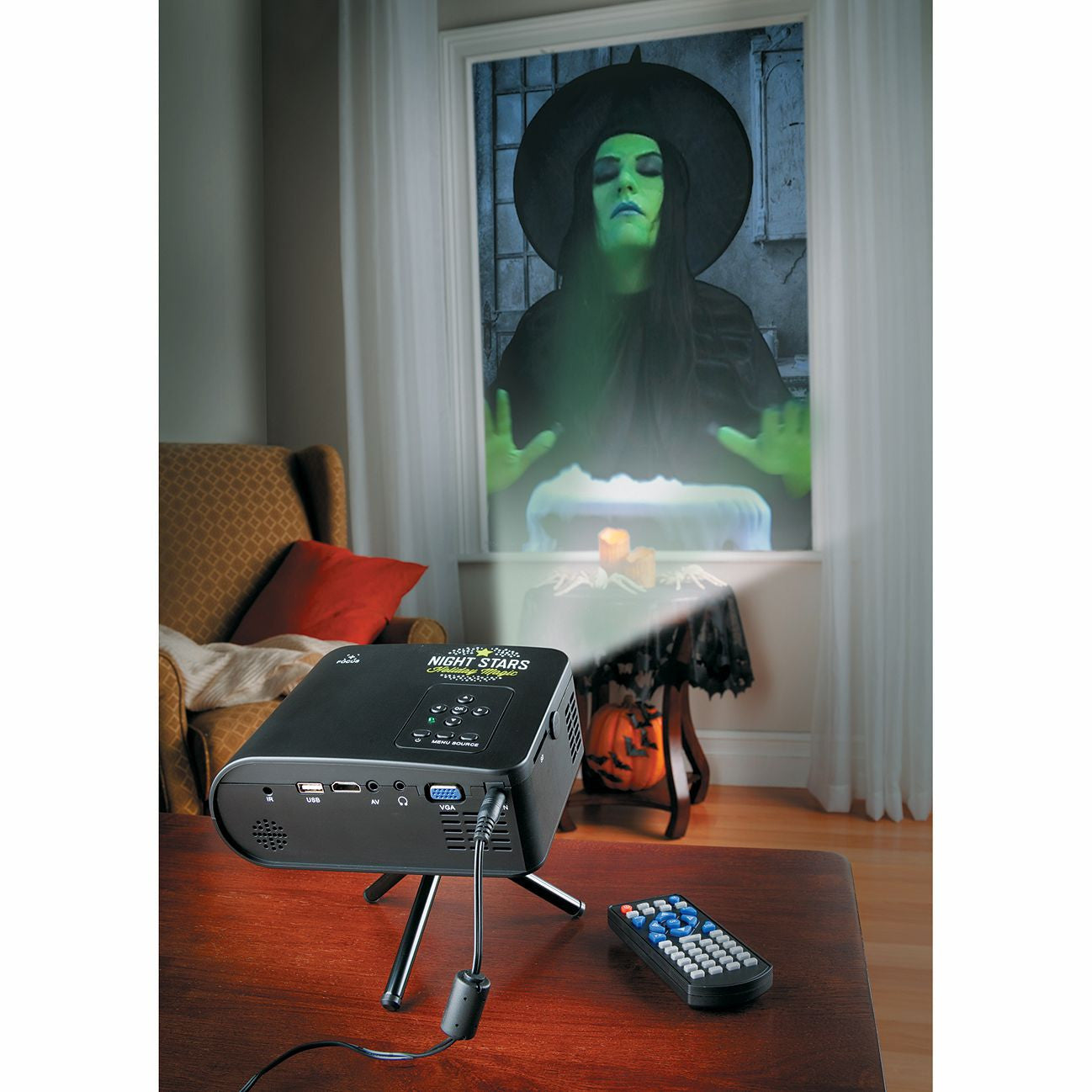halloween projector lighting