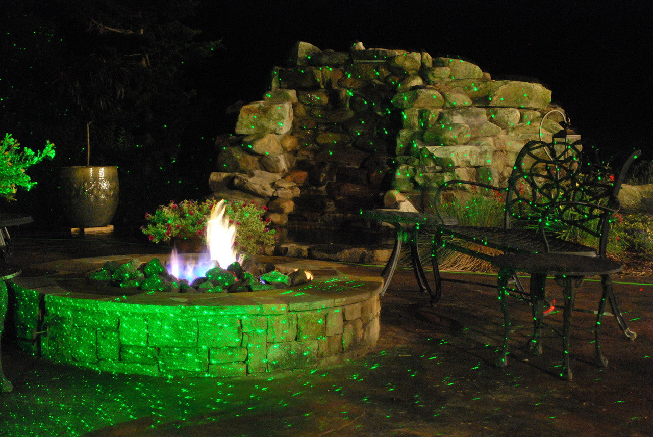 Laser Lights - Green Laser - Night Stars Landscape Lighting
