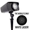White Laser - Moving White Laser - Night Stars Landscape Lighting