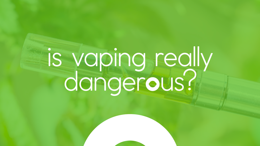 Is Vaping Really Dangerous graphic