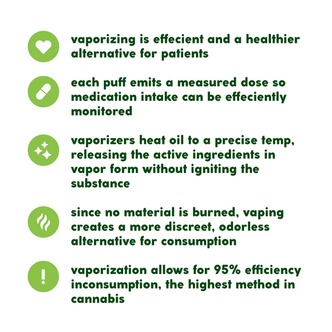 benefits of vaporizing
