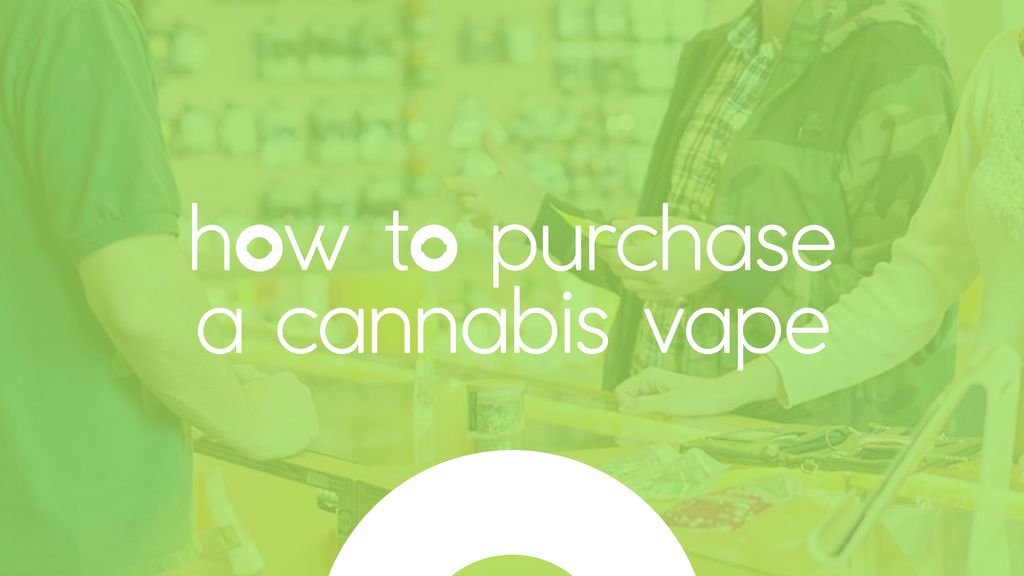 how to buy a cannabis vape pen
