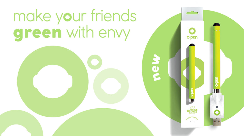 Make Zyour Friends Green With Envy - Open 2.0 - 510 Battery
