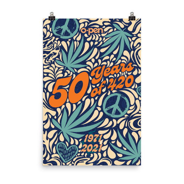 4.20 50th Anniversary Poster