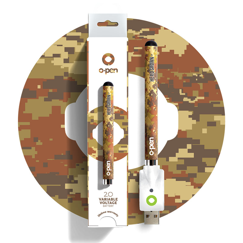 Hero Grown Camo vape pen