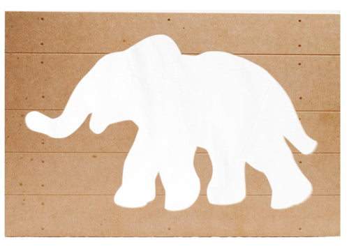 Elephant Cut Out